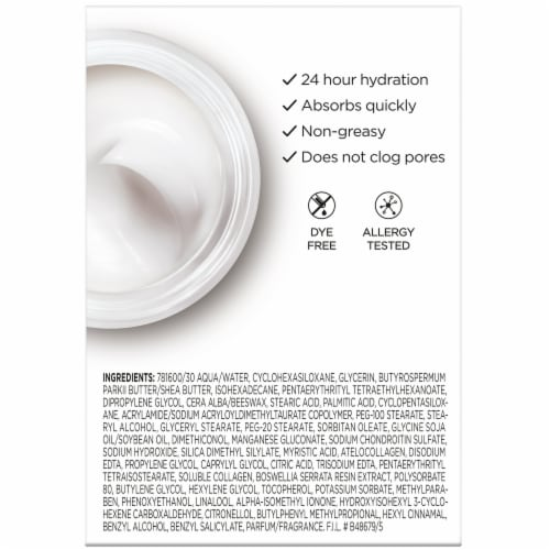 L'Oreal Paris Collagen Moisture Filler Daily Moisturizer Perspective: left
