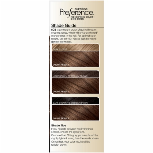 L'Oreal Paris Superior Preference Medium Chestnut Brown 5CB Permanent Hair Color Perspective: left