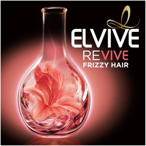 L'Oréal Paris Elvive Smooth Intense Frizz Taming Serum Perspective: left