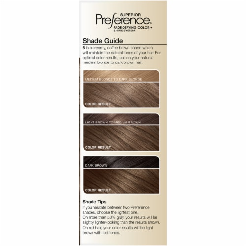 L'Oreal Paris Superior Preference Natural Light Brown 6 Permanent Hair Color Perspective: left