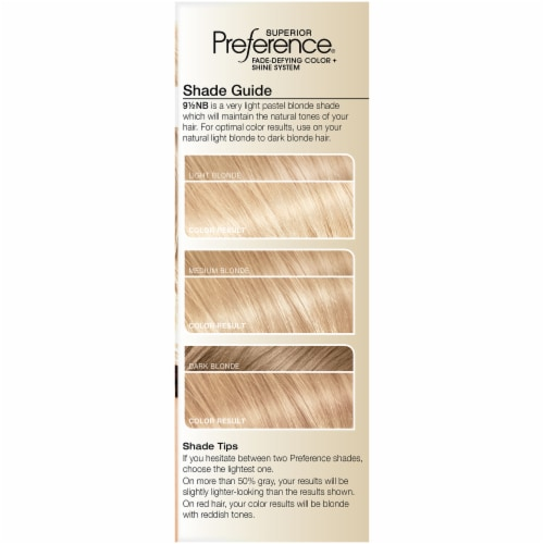 L'Oreal Paris Superior Preference 9.5NB Lightest Natural Blonde Permanent Hair Color Kit Perspective: left