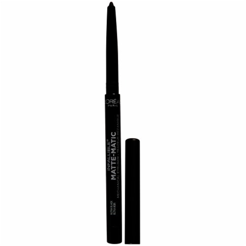 L'Oreal Paris Infallible Matte-Matic 512 Ultra Black Mechanical Eyeliner Perspective: left
