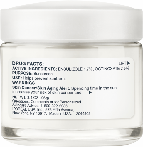 L'Oreal Paris Age Perfect Mature Skin Hydrating Moisterizer Day Cream with SPF 15 Perspective: left