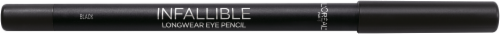 L'Oreal Paris Infallible Pro-Last 930 Black Waterproof Pencil Eyeliner Perspective: left