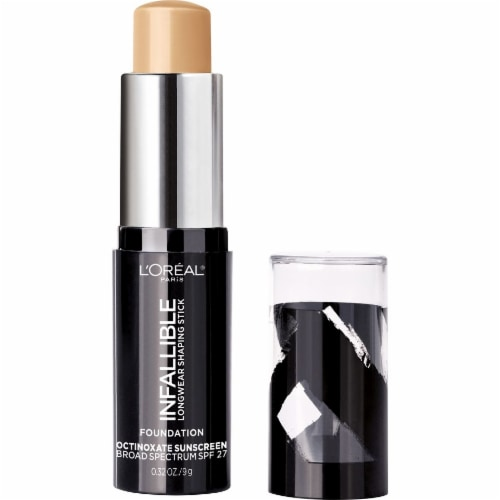 L'Oreal Paris Infallible Longwear Shaping Stick Sand Foundation Perspective: left