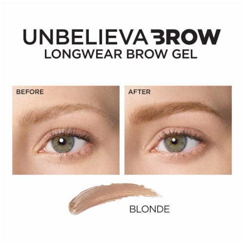 L'Oreal Paris Unbelieva Longwear Waterproof Brow Gel - Blonde 560 Perspective: left