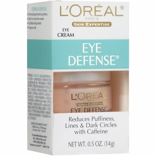 L'Oreal Paris Dermo-Expertise Eye Defense Anti-Aging Treatment Perspective: left