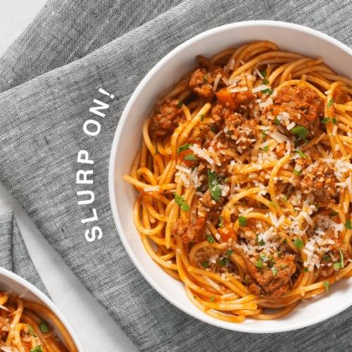 Ronzoni Garden Delight Veggie Spaghetti Perspective: left