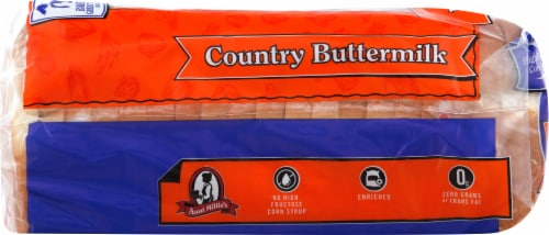 Aunt Millie's Homestyle Country Buttermilk Bread Perspective: left