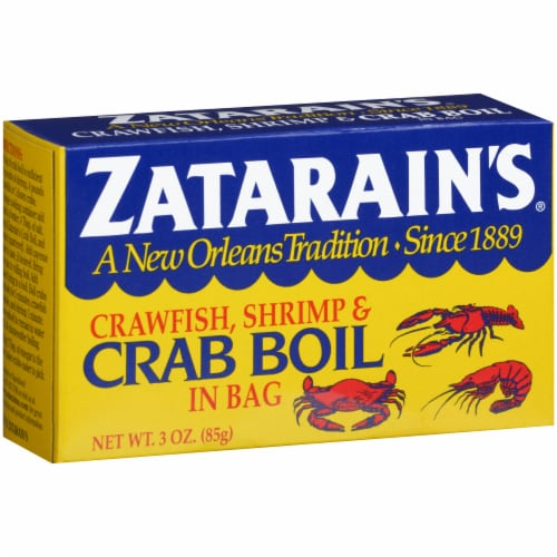 Zatarain's Crawfish Shrimp & Crab Boil in Bag Perspective: left