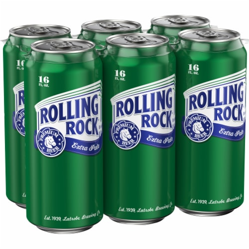Rolling Rock® Extra Pale Beer Perspective: left