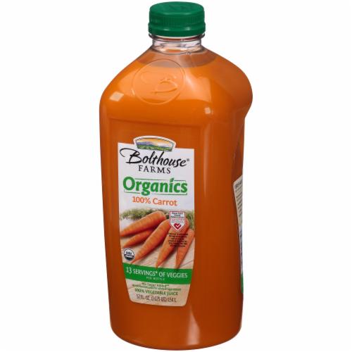 Bolthouse Farms Organics 100% Carrot Juice Perspective: left
