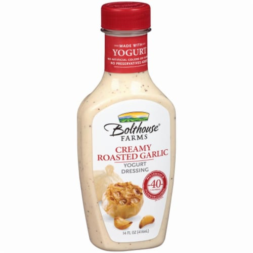 Bolthouse Farms Creamy Roasted Garlic Yogurt Dressing Perspective: left