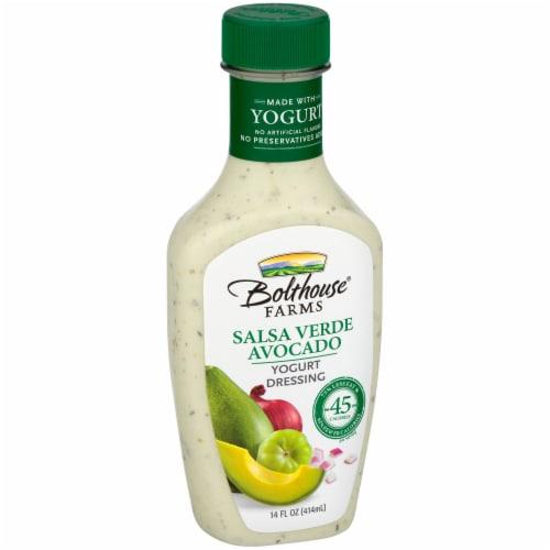 Bolthouse Farms Salsa Verde Avocado Yogurt Dressing Perspective: left