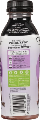 Bolthouse Farms Protein Keto Dark Chocolate Shake Perspective: left
