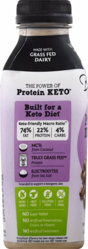 Bolthouse Farms Keto Coffee Protein Shake Perspective: left