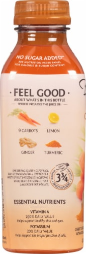 Bolthouse Farms® Carrot Ginger Turmeric Juice Perspective: left