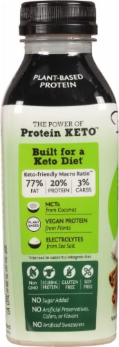 Bolthouse Farms Cinammon Horchata Plant-Based Keto Protein Shake Perspective: left