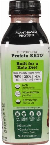 Bolthouse Farms® Hazlenut Fudge Plant-Based Keto Protein Shake Perspective: left
