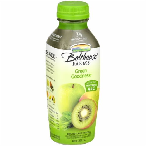 Bolthouse Farms Green Goodness Fruit Juice Smoothe Perspective: left