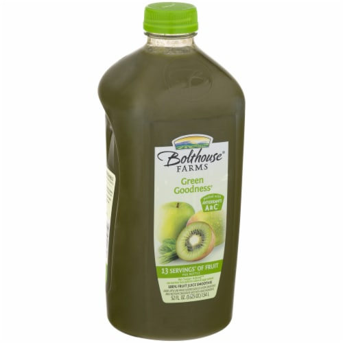 Bolthouse Farms Green Goodness Fruit Juice Smoothie Perspective: left