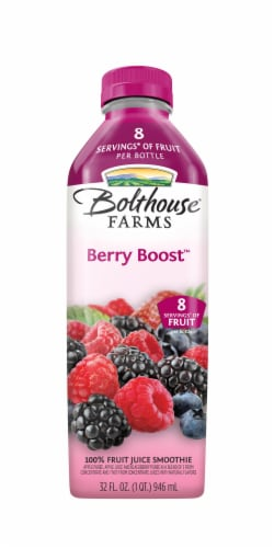 Bolthouse Farms Berry Boost Fruit Juice Smoothie Perspective: left