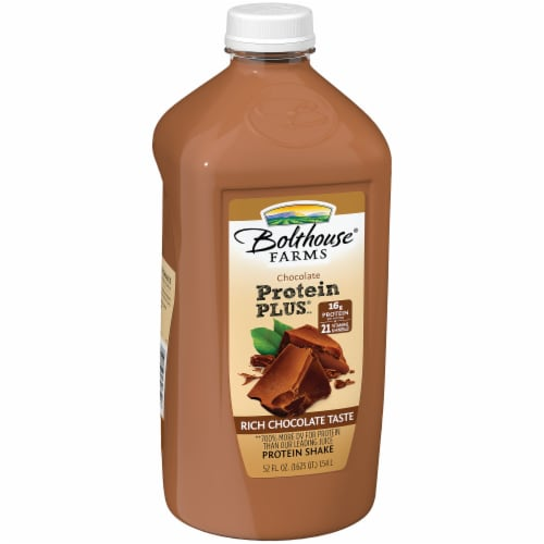 Bolthouse Farms Protein Plus Chocolate Protein Shake Perspective: left