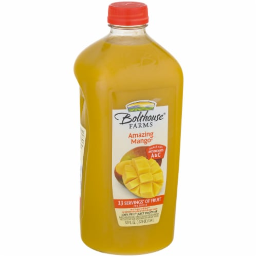 Bolthouse Farms Amazing Mango Fruit Juice Smoothie Perspective: left