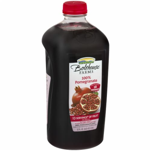 Bolthouse Farms 100% Pomegranate Juice Perspective: left
