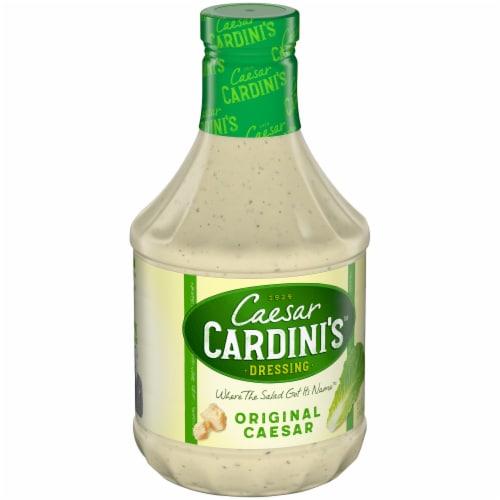 Cardini's Original Caesar Salad Dressing Perspective: left