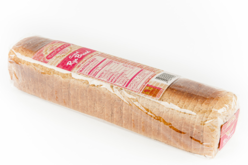 Rubschlager Thin-Sliced Cocktail Rye Bread Perspective: left