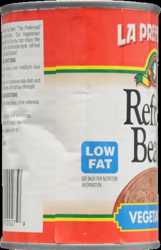 La Preferida Vegetarian Refried Beans Perspective: left