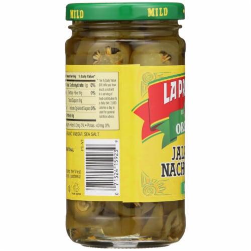 La Preferida Organic Mild Jalapeno Nacho Slices Perspective: left