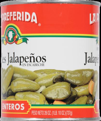 La Preferida Whole Jalapeno Peppers Perspective: left