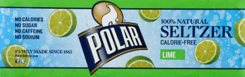 Polar Lime Seltzer Perspective: left