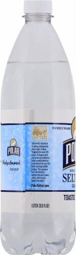 Polar Toasted Coconut Seltzer Perspective: left