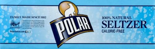 Polar Seltzer Original Sparkling Water Perspective: left