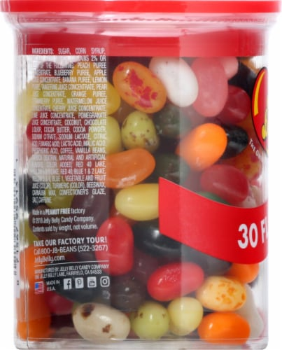 Jelly Belly 30 Flavors Jelly Beans Can Perspective: left