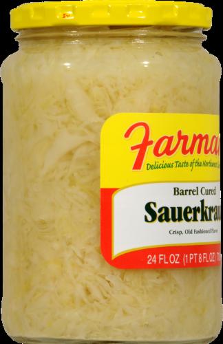 Farman's Sauerkraut Perspective: left