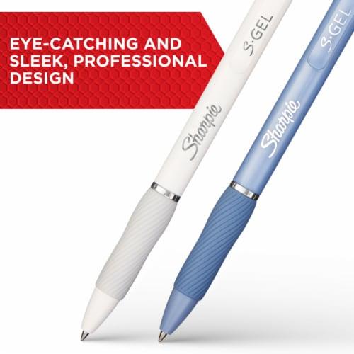 Sharpie S-Gel 0.7mm Gel Pens - Black Perspective: left