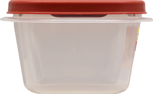 Rubbermaid Easy-Find Lids Two-Cup Food Storage Container Perspective: left