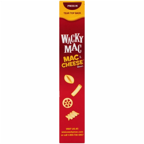 Wacky Mac & Cheese Dinner Perspective: left