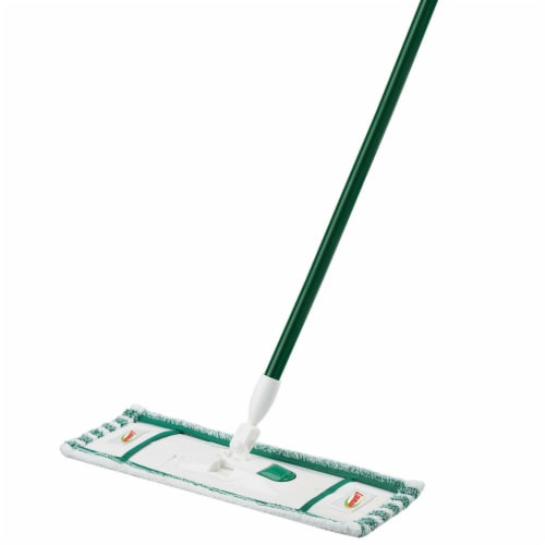 Libman® Wet & Dry Microfiber Dust Mop - Green Perspective: left