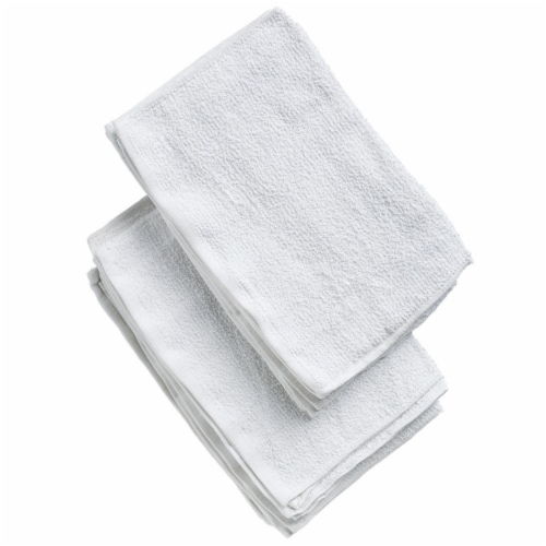 Libman® Terry Towels - White Perspective: left