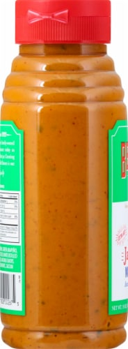 Beaver Brand Extra Hot Jalapeno Mustard Perspective: left