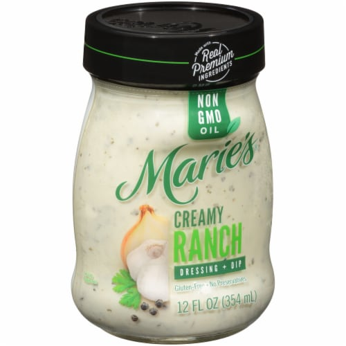 Marie's Creamy Ranch Dressing + Dip Perspective: left