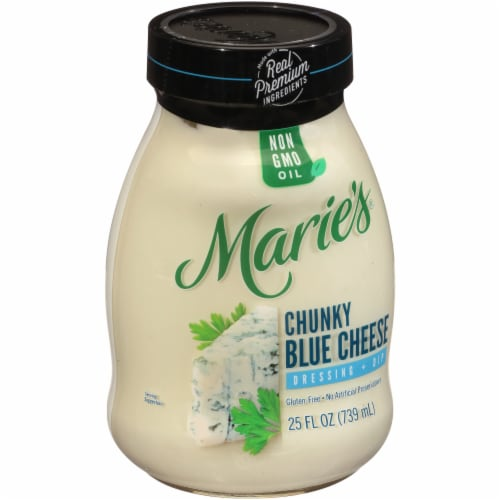 Marie's Chunky Blue Cheese Dressing + Dip Perspective: left