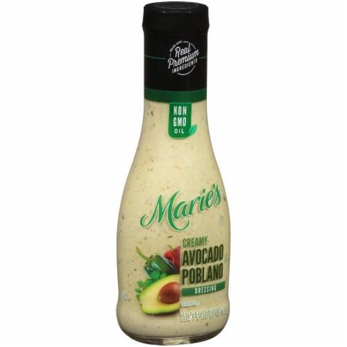 Marie's Creamy Avocado Poblano Dressing Perspective: left