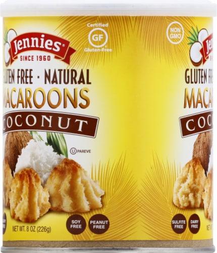 Jennie's Gluten Free Coconut Macaroons Perspective: left