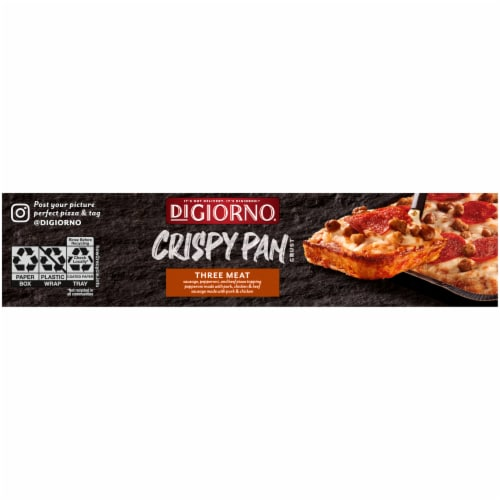 DiGiorno Three Meat Crispy Pan Pizza Perspective: left